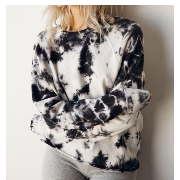 1f7a8e750f70b NWT Joah Brown Tie Dye Grunge Sweatshirt Boutique